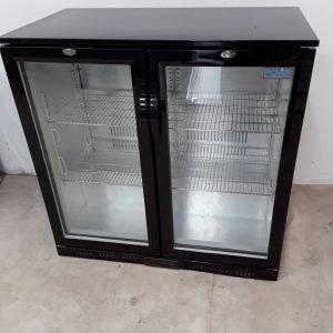 New B Grade Polar GL002 Double Under Counter Bottle Fridge For Sale