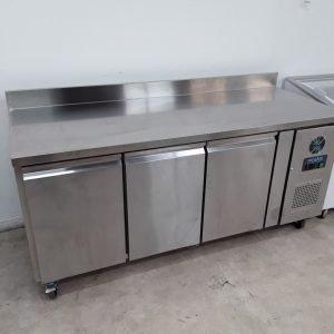 New B Grade Polar DL917 3 Door Bench Freezer For Sale