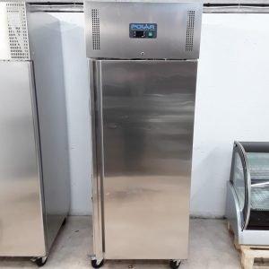 New B Grade Polar U633 Stainless Single Upright Freezer Heavy Duty For Sale