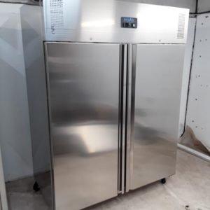 Used Polar U635 Stainless Double Upright Freezer Heavy Duty For Sale