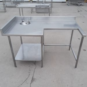 Used   Stainless Steel Table Hand Sink For Sale