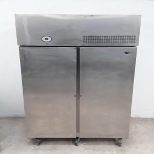 Used Foster PSG1100L Stainless Upright Double Freezer For Sale