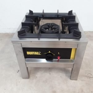 Ex Demo Buffalo Hokker Big Flame L493 Stock Pot Burner For Sale