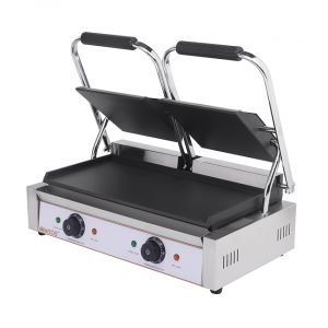 Brand New Imettos 101018 Double Contact Panini Grill For Sale