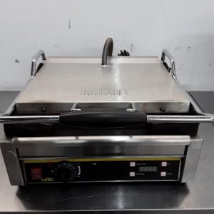 Used Buffalo L530 Single Contact Panini Grill For Sale