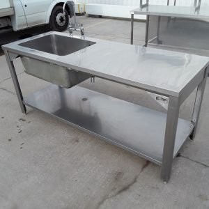 Used Boppas  Stainless Steel Single Bowl Sink For Sale