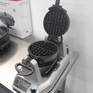 Used Waring DM874 Double Waffle Maker For Sale