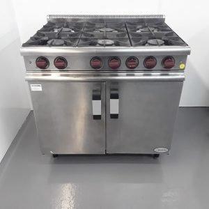 Used Moorwood Vulcan MC90M 6 Burner Range Cooker For Sale