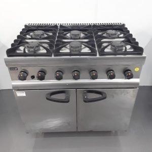 Used Lincat SLR9 6 Burner Range Cooker For Sale