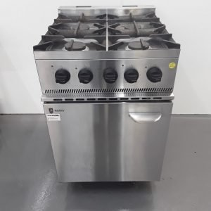 Used Parry P4BOP 4 Burner Range Cooker For Sale