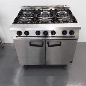 Used Falcon Dominator G2101OT 6 Burner Range Cooker For Sale