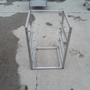 Used   Stainless Steel Dishwasher Stand For Sale
