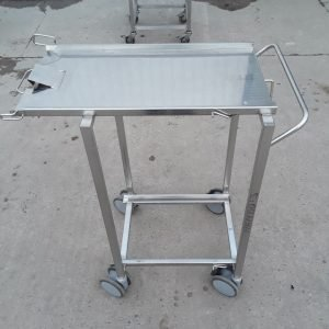 Used   Stainless Steel Machine Trolley For Sale
