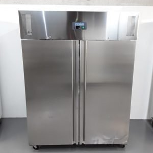 New B Grade Polar U634 Stainless Double Upright Fridge For Sale