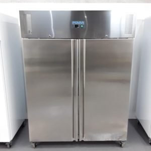 New B Grade Polar U634 Stainless Double Upright Fridge Heavy Duty For Sale