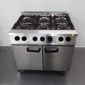 Used Falcon G2101 OT 6 Burner Range Cooker For Sale