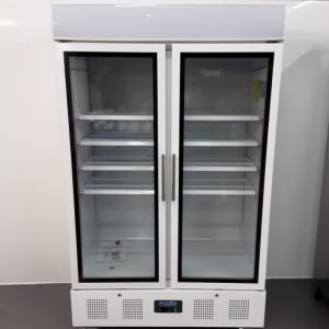 New B Grade Polar CD984 Double Upright Display Fridge For Sale