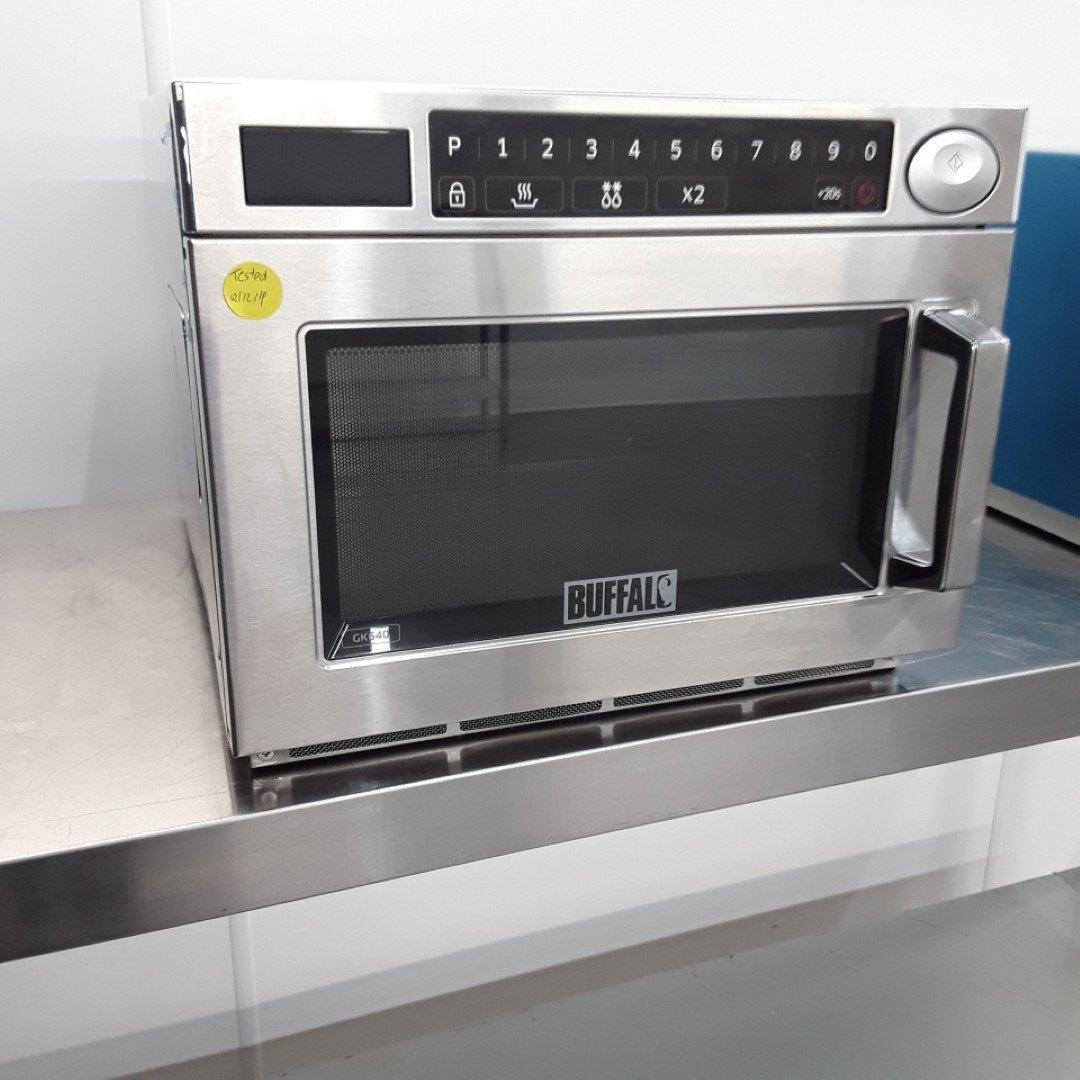 Ex Demo Buffalo GK640 Microwave Programmable 1850W For Sale
