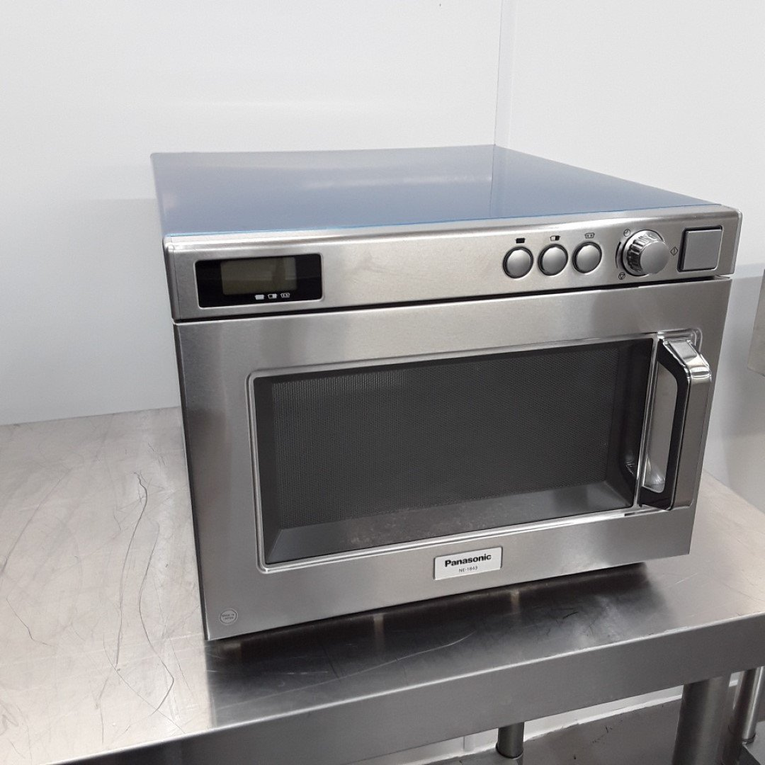 Ex Demo Panasonic NE-1843 Microwave Manual 1800W For Sale
