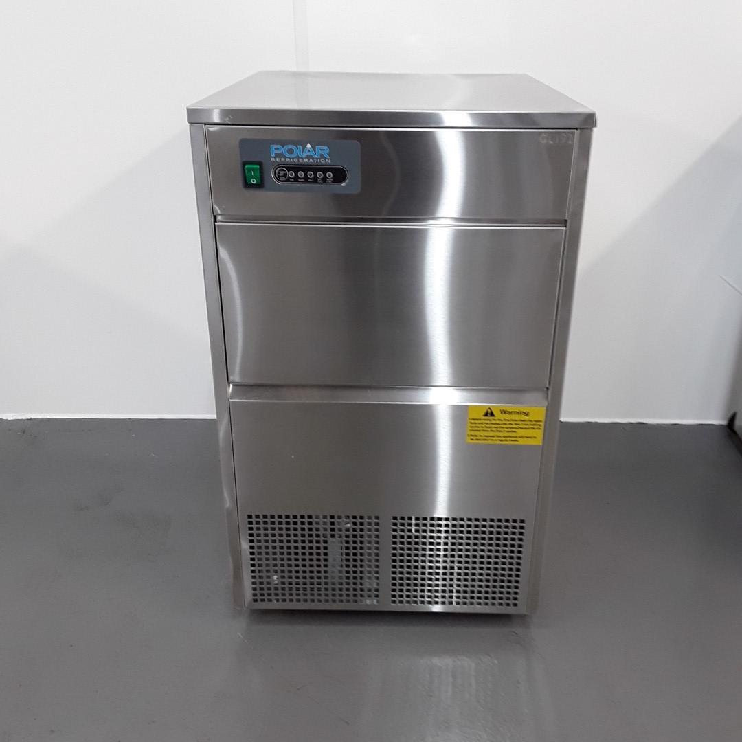 New B Grade Polar GL192 Ice Maker 50kg For Sale