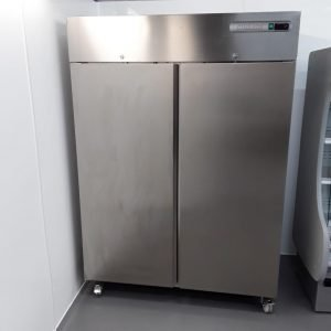 New B Grade Sterling Pro SPPI-142 Stainless Double Upright Fridge For Sale
