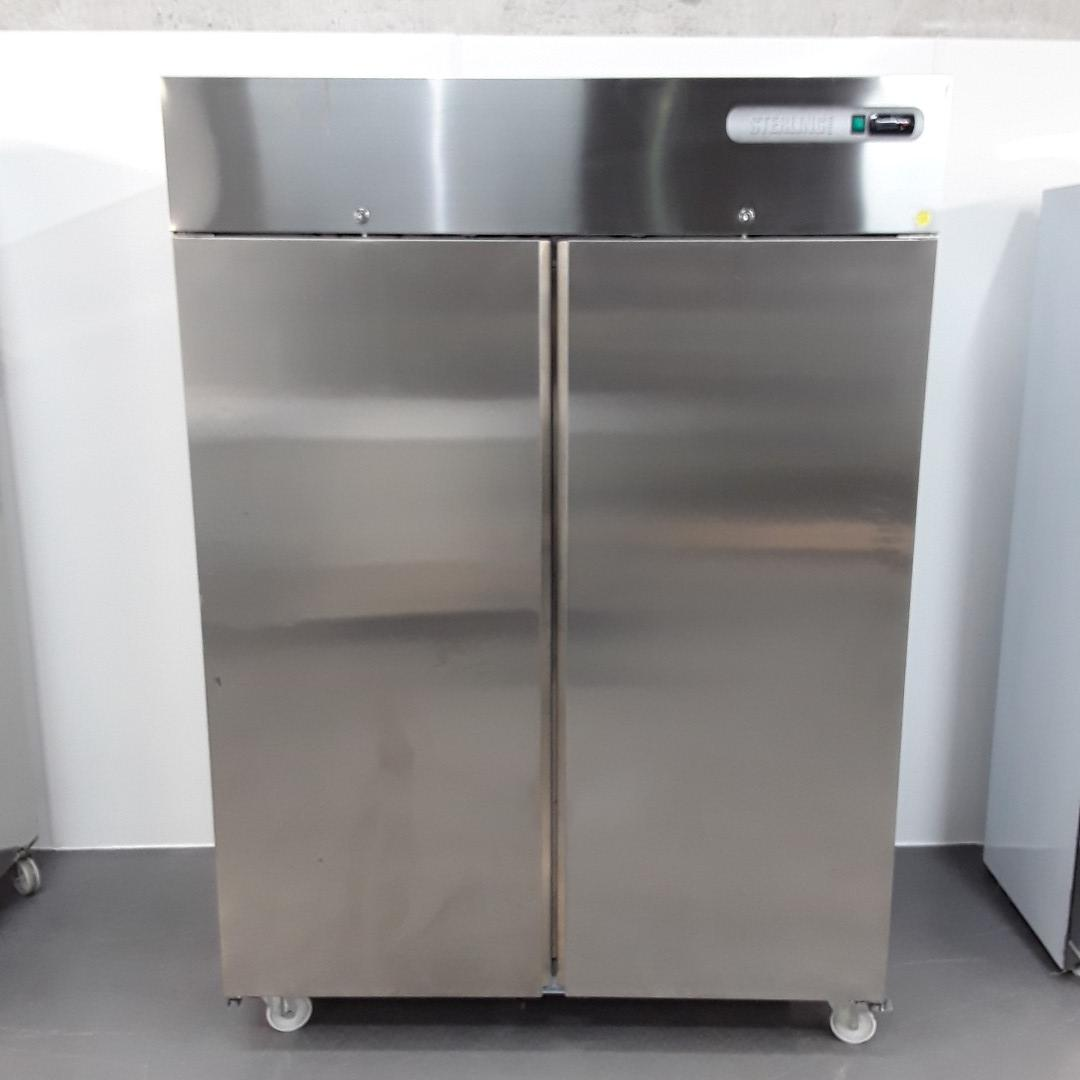 New B Grade Sterling Pro SPNI-142 Stainless Double Upright Freezer For Sale