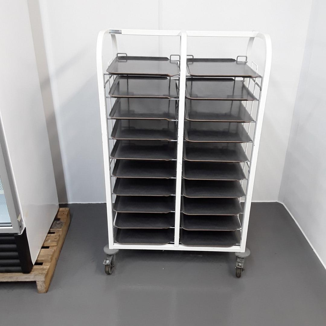 Used Craven  Double Clearing Trolley For Sale