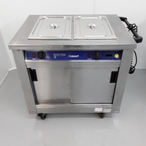 Used Victor BM20MS Hot Cupboard Dry Bain Marie For Sale