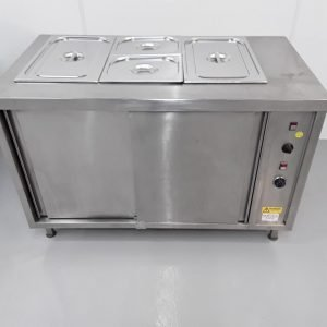 Used   Hot Cupboard Dry Bain Marie For Sale