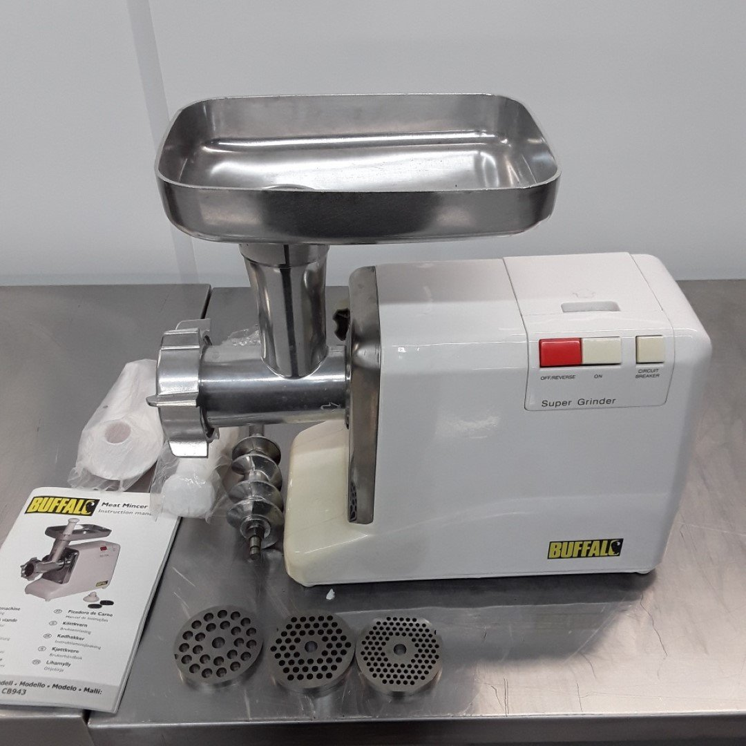 Ex Demo Buffalo CB943 Meat Mincer For Sale
