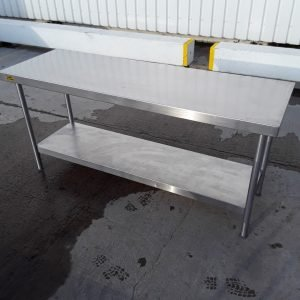 Used Bartlett B Line Stainless Steel Table For Sale