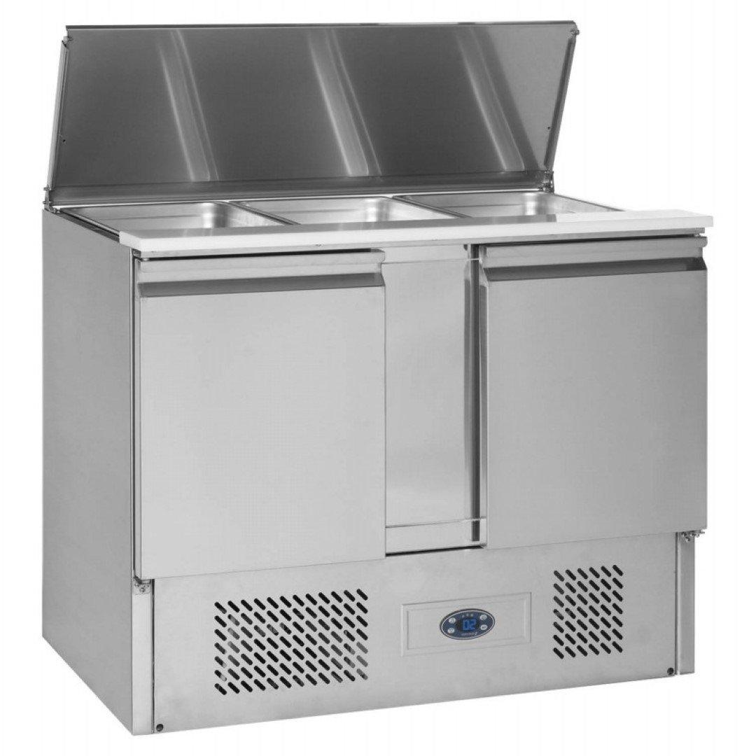 Brand New Tefcold SA1045B 2 Door Bench Fridge Saladette For Sale