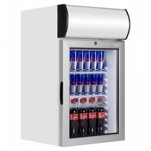 Brand New Tefcold FS80CP Glass Display Fridge For Sale