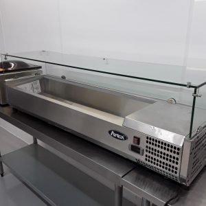 New B Grade Atosa VRX1500 Display Fridge For Sale