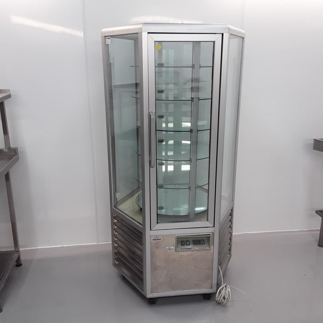 Used Tecfrigo Snelle 600 Rotating Display Chiller For Sale