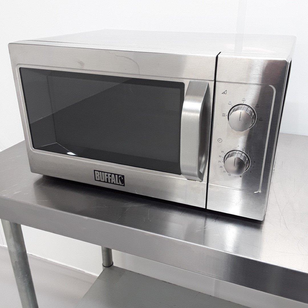 Ex Demo Buffalo GK643 Microwave Manual 1100W For Sale