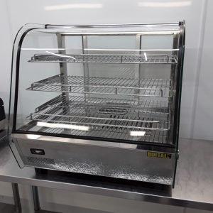 Used Buffalo CD231 Heated Display Food Warmer For Sale