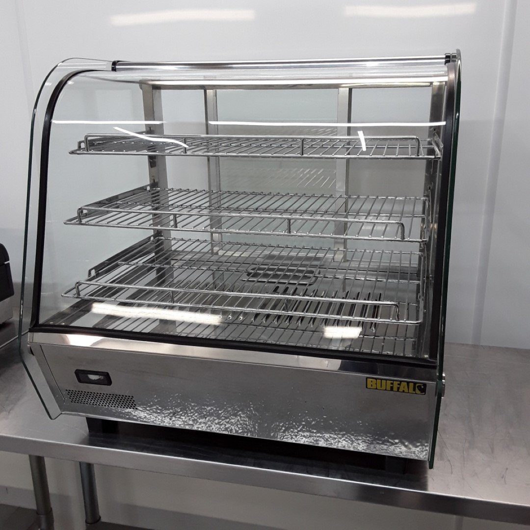 Used Buffalo CD231 Heated Display Food Warmer For Sale