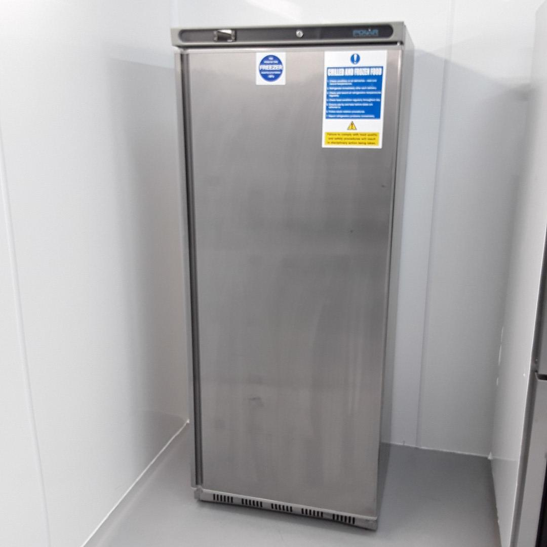Used Polar CD085 Stainless Single Upright Freezer For Sale