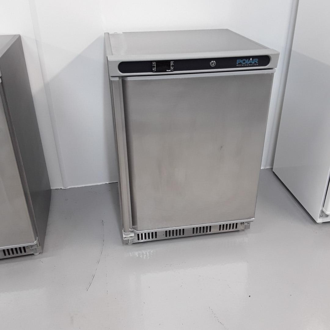New B Grade Polar CD081 Stainless Single Under Counter Freezer For Sale