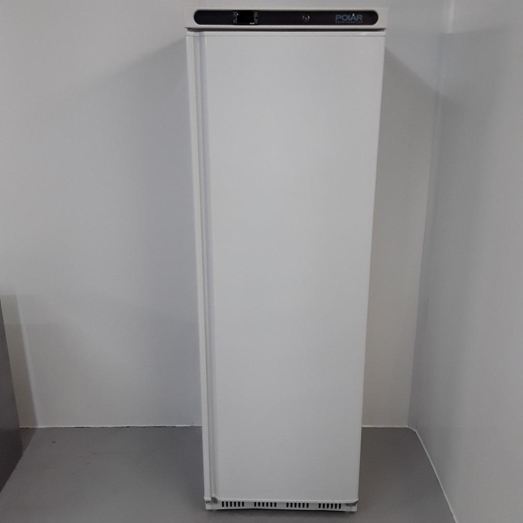 New B Grade Polar CD613 Single Upright Freezer White For Sale