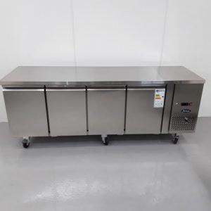 Brand New Atosa EPF3442 3H 4 Door Bench Fridge For Sale