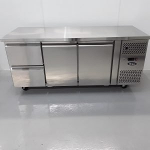 Brand New Atosa EPF3534 Triple Bench Fridge For Sale