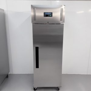 New B Grade Polar G593 Stainless Single Upright Freezer For Sale