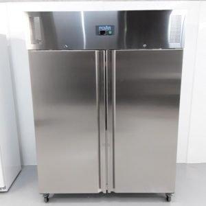 New B Grade Polar U635 Stainless Double Upright Freezer For Sale
