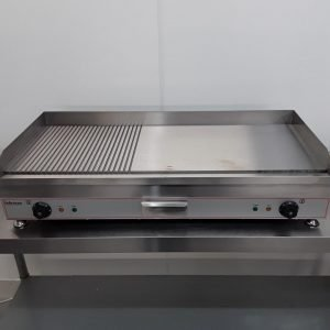 Brand New Infernus INEG-100 50/50 Flat Ridged Griddle For Sale