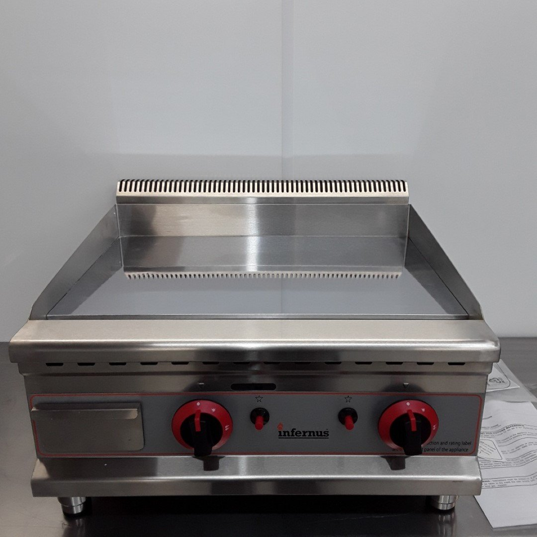 Brand New Infernus IF-60GGC Flat Griddle Chrome For Sale