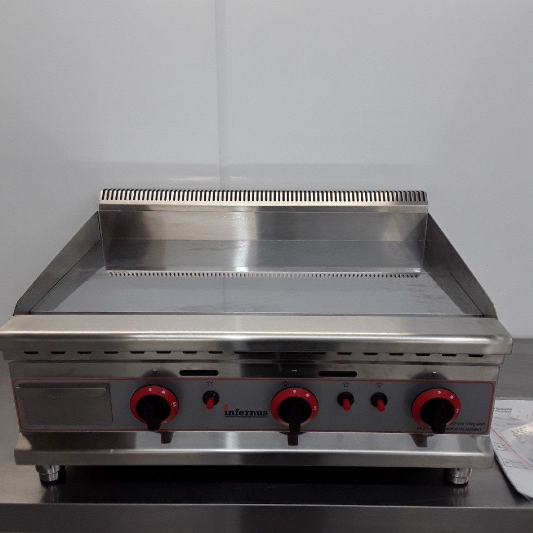 Brand New Infernus IF-75GGC Flat Griddle Chrome For Sale