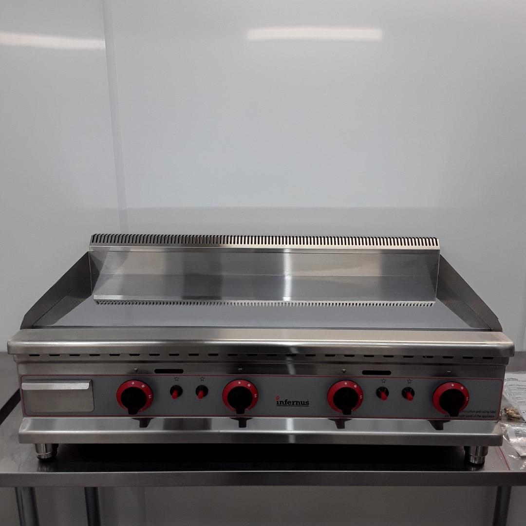 Brand New Infernus IF-100GGC Flat Griddle Chrome For Sale