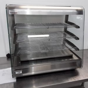 Brand New Infernus 660 SLV Heated Display Food Warmer For Sale
